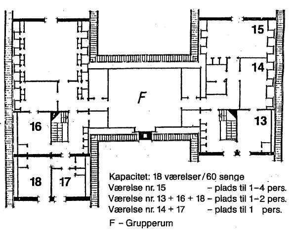 Jørgensø, 1. sal