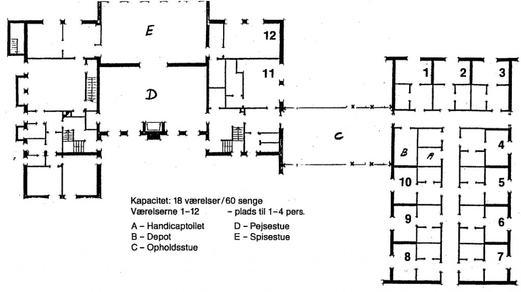 Jørgensø, stueplan